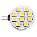 preiswerte LED Doppelsteckerlichter-2700 lm G4 LED Spot Lampen 10 LED-Perlen SMD 5050 Warmes Weiß 12 V