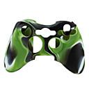 olcso Xbox 360 tartozékok-Játékvezérlő tokvédő Kompatibilitás Xbox 360 ,  Játékvezérlő tokvédő Szilikon 1 pcs egység