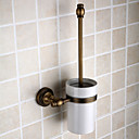cheap Bathroom Sink Faucets-Toilet Brush Holder Removable Antique Brass 1 pc - Hotel bath