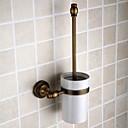 cheap Toothbrush Holder-Toilet Brush Holder Removable Antique Brass 1 pc - Hotel bath