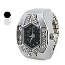ieftine Ceasuri Damă-Pentru femei Quartz Ceas inel Japoneză imitație de diamant Bandă Sclipici Argint
