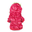halpa Koiran vaatteet-Koira Takit / Hupparit Koiran vaatteet Yhtenäinen Ruusu Puuvilla Asu Lemmikit Miesten / Naisten Pidä Lämmin / Tuulenpitävä