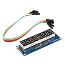 billige Moduler-8 x syv-segment-display modul for (for arduino) (595 sjåfør)
