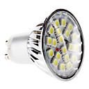 preiswerte Scheinwerfer-6000lm GU10 LED Spot Lampen MR16 20 LED-Perlen SMD 5050 Natürliches Weiß 220-240V