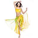 cheap Belly Dance Wear-Belly Dance Skirt Women's Training Polyester Tie Dye Dropped Skirt