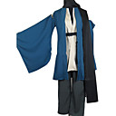 ieftine Anime Costume-Inspirat de Grandson Nurarihyon lui Kubinashi Anime Costume Cosplay Costume Cosplay Kimono Mată Manșon Lung Geacă Pantaloni Centură