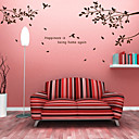 cheap Wall Stickers-Abstract Botanical Wall Stickers Plane Wall Stickers Decorative Wall Stickers, Vinyl Home Decoration Wall Decal Wall