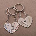 cheap Keychain Favors-Classic Theme Keychain Favors Chrome Keychains-Piece/Set Wedding Favors