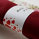 hesapli Düğün Hediyeleri-Malzeme Düğün Peçeteler Peçeteler Peçete Yüzükleri Düğün Yıldönümü Doğumgünü Nişan Partisi Çeyiz Görme Ev Gençlik Partisi Klasik Tema