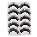 preiswerte Wimpern Accessoires-Augenwimpern Falsche Wimpern 10 pcs Voluminisierung / Extra lang / Dick Augenwimpern Klassisch Alltag Bilden Kosmetikum