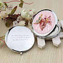 cheap Practical Favors-Wedding Anniversary Engagement Party Bridal Shower Bachelor's Party Birthday Party Chrome Compacts Floral Theme