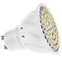preiswerte LED Glühbirnen-3 W 250-350 lm GU10 LED Spot Lampen MR16 60 LED-Perlen SMD 3528 Warmes Weiß / Kühles Weiß 220-240 V / 110-130 V