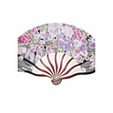 cheap Fans & Parasols-Special Occasion Fans and Parasols Wedding Decorations Floral Theme Spring Summer Fall