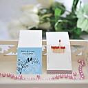 hesapli Düğün Dekorasyonları-Kişiselleştirilmiş Kibrit Kutuları Malzeme / Sert Kart Kağıdı Düğün Süslemeleri Düğün / Parti Bahçe Teması / Düğün Tüm Mevsimler