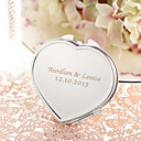 cheap Practical Favors-Wedding Anniversary Engagement Party Bridal Shower Birthday Party Stainless Steel Compacts Classic Theme