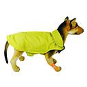 baratos Roupas para Cães-Gato Cachorro Casacos Colete Roupas para Cães Sólido Laranja Amarelo Rosa Vermelho Azul Náilon Ocasiões Especiais Para animais de