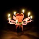 baratos Velas para Lembrancinhas-Tema Jardim Tema Fadas Favores da vela - 1 Velas Suportes de Velas Caixa de Ofertas