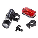 cheap Bike Frame Bags-LED Bike Light LED Flashlights / Torch Rechargeable Bike Light Set Front Bike Light Cycling Waterproof Multi-function Alarm AAA 100 lm Battery Cycling / Bike / IPX-4