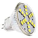 baratos Lâmpadas de LED-2W 6000 lm GU4(MR11) Lâmpadas de Foco de LED MR11 18 leds SMD 2835 Branco Frio AC 12V DC 12V