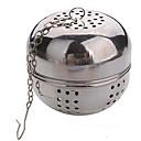 Χαμηλού Κόστους Καφές και Τσάι-πολλαπλών λειτουργιών τσάι διαμ 5,5 εκατοστών από ανοξείδωτο μπάλα ασφάλισης ενσταλακτής σουρωτήρι τσαγιού βραστήρες