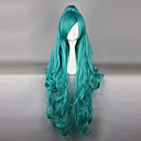 cheap Historical & Vintage Costumes-Cosplay Wigs Cosplay Iva Green Anime Cosplay Wigs 40 inch Heat Resistant Fiber Women's Halloween Wigs