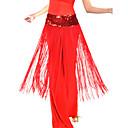 hesapli Dans Aksesuarları-Göbek Dansı Kemer Kadın's Eğitim Polyester Püsküllü Doğal / Balo Salonu