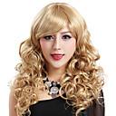 preiswerte Modische Ohrringe-Synthetische Perücken Synthetische Haare Perücke Damen Blondine