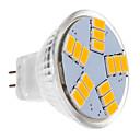 preiswerte Lampenbasen & Steckverbinder-450 lm LED Spot Lampen MR11 15 Leds SMD 5630 Warmes Weiß DC 12V