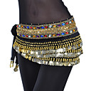 cheap Dance Accessories-Belly Dance Belt Women's Training Polyester Beading / Coin / Crystals / Rhinestones / Ballroom