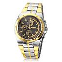 baratos Anéis para Homens-Homens Relógio de Pulso Relógio Casual Lega Banda Amuleto Prata / Dourada / Dois anos / SOXEY SR626SW