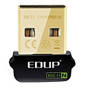 baratos Adaptadores de Rede-EDUP EP-N8508GS IEEE802.11b/g/n 150Mbps Wireless USB daptador de rede sem fio