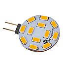 halpa Bi-pin LED-lamput-SENCART 5W 420-500lm G4 LED-kohdevalaisimet 12 LED-helmet SMD 5730 Lämmin valkoinen / Kylmä valkoinen 12V