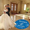 preiswerte Hochzeitsgeschenke-Tanzboden Aufkleber PVC / Fasergemisch Hochzeits-Dekorationen Hochzeitsfeier Klassisch / Märchen Winter / Ganzjährig