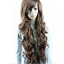cheap Synthetic Capless Wigs-synthetic wigs long wavy wigs full bang wigs 3 colors available