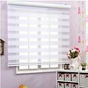 preiswerte Fenster Schürze-Durchsichtige Vorhänge 100% Polyester Umweltfreundlich Innen Montage Jacquardgewebe