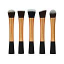 cheap Makeup Brush Sets-5pcs Makeup Brushes Professional Makeup Brush Set Synthetic Hair Synthetic / Limits Bacteria Metal / Plastic