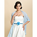 cheap Wedding Wraps-Sleeveless Chiffon Party Evening / Casual Wedding  Wraps / Shawls With Shawls