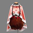 cheap Kigurumi Pajamas-Inspired by Puella Magi Madoka Magica Nagisa Hazuki Anime Cosplay Costumes Cosplay Suits Patchwork Dress Shawl Underwear Cap For Women's