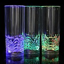 abordables Tazas-1pc Luz de noche LED Vasos y Tazas LED Batería Impermeable