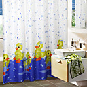 voordelige Douchegordijnen-Leuke cartoon Bad Duck Shower Curtain