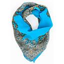 お買い得  ファッションスカーフ-女性用 プリント パーティー オフィス シフォン 四角形