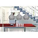 olcso Süllyesztett-3-Light Gömb Függőlámpák Süllyesztett lámpa Csiszolt Fém Üveg LED Az izzó tartozék / E26 / E27