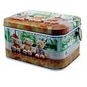 halpa Seinämaalaukset-karhu kuvio metallinen säilytyslaatikko soittorasia lelut