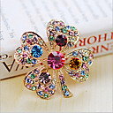 cheap Brooches-Women's Brooches - Crystal, Cubic Zirconia Party, Fashion Brooch White / Rainbow For Wedding / Party / Special Occasion