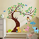 cheap Wall Stickers-Landscape Animals Still Life Leisure Fantasy Botanical Wall Stickers Plane Wall Stickers Decorative Wall Stickers, Vinyl Home Decoration