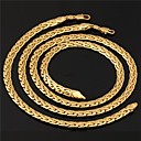 cheap Jewelry Sets-Gold Plated Jewelry Set Necklace / Bracelets & Bangles - Circle Jewelry Set For Wedding / Party / Daily