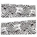 billige Selges kun i Europa-1 pcs 3D Negle Stickers Vannoverføringsklistre Neglekunst Manikyr pedikyr Smuk Punk / Mote Daglig / 3D Nail Stickers