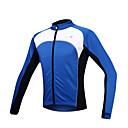 baratos Adesivos de Parede-SANTIC Homens Jaqueta para Ciclismo Moto Jaqueta / Camisa / Roupas Para Esporte / Blusas Térmico / Quente, A Prova de Vento, Forro de