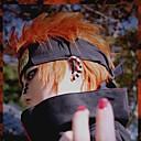 halpa Anime-asut-Cosplay-Peruukit Naruto Cosplay Oranssi Anime Cosplay-Peruukit 14 inch Heat Resistant Fiber Miesten Halloween Peruukit