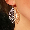 cheap Earrings-Women's Drop Earrings - Leaf Statement Ladies Vintage Party Casual Fashion Jewelry Gold / Silver For Party Daily